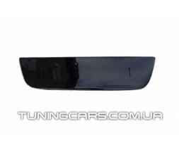 (Глянец) Заглушка зимняя в бампер Fiat Doblo (06-12), Фиат Добло