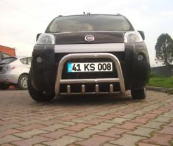 Кенгурятник Fiat Fiorino [2008+] QT006