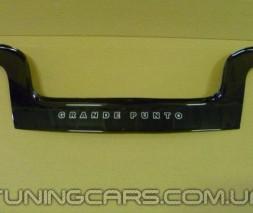 Дефлектор капота Fiat Grande Punto 2005+