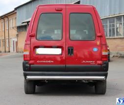 Задняя защита Fiat Scudo AK002 (Merkur)