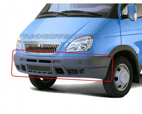 Бампер передний для ГАЗ Газель 3302 Оригинал (серый)