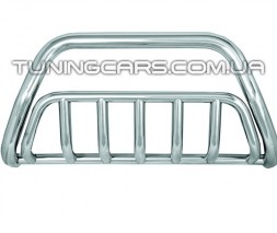 Защита переднего бампера для ГАЗель Next (2013+) GZNX.13.F1-02 d60мм x 1.6