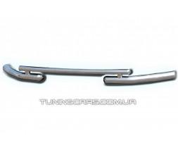 Защита переднего бампера для Geely Emgrand X7 (2012+) GLEM.12.F3-07 d60мм x 1.6