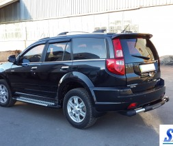 Пороги Great Wall Haval H3 [2010+] AB004 (Artemis Silver)