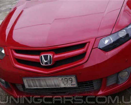 """Решетка радиатора Honda Accord 8 """"Sport"""", Хонда Аккорд"""