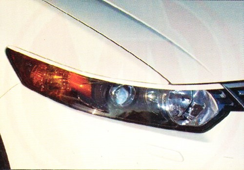Накладки на фары Honda Accord Mugen 2008