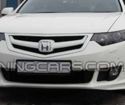 Накладка на передний бампер для Honda Accord 8 (дорестаил.)