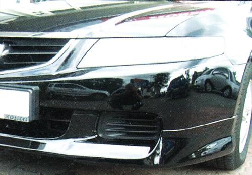 """Накладка на передний бампер Honda Accord """"Завод"""""""