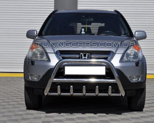 Передняя защита кенгурятник Honda CR-V (01 - 06) HDCR.01.F1-03