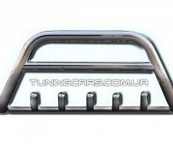 Защита переднего бампера для Honda CR-V (2006-2012) HDCR.06.F1-03M d60мм x 1.6