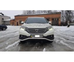 Защита переднего бампера для Honda CR-V (2012-2016) HDCR.12.F3-04 d60мм x 1.6
