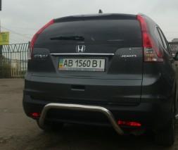 Защита заднего бампера Honda CR-V [2007+] AK007