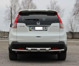Задняя защита Honda CR-V AK002 Double model