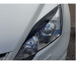 Накладки на фары (реснички) Honda CR-V 2006-2012, Хонда ЦРВ