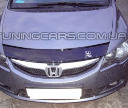 Дефлектор капота Honda  Civic: 2006. Седан