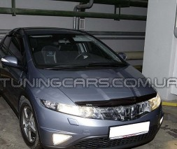 Дефлектор капота Honda Civi: 2006 hb