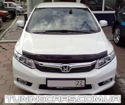 Дефлектор капота Honda Civic: 2012 сед.
