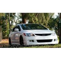 Накладка на передний бампер Mugen для Honda Civic, Хонда Цивик