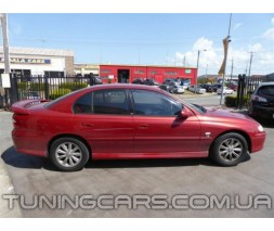 "Накладки на пороги Honda Civic ""Mugen Style"""