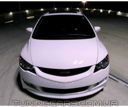 """Решетка радиатора Honda Civic в стиле """"Mugen"""", Хонда Цивик"""