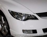 Накладки на фары Honda Civic