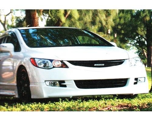 Накладка на передний бампер Honda Civic, Mugen