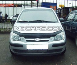 Дефлектор капота Hyundai Gets: 2002-2005