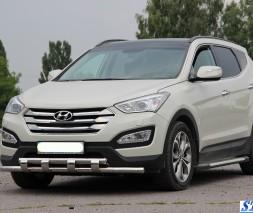 Кенгурятник Hyundai Santa Fe [2013+] ST015