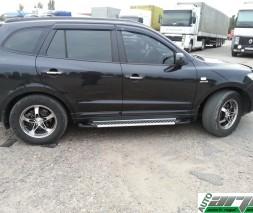 Пороги Hyundai Santa Fe AB007 (Artemis Fin)