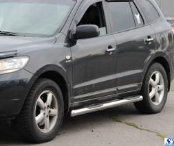 Пороги Hyundai Santa Fe BB003 (Asos)