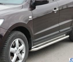 Пороги Hyundai Santa Fe KB001 (Hector)