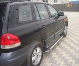 Пороги Hyundai Santa Fe [2002-2006] KB002 (Hunter)