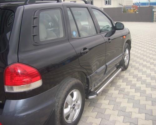 Пороги площадка для Hyundai Santa Fe (2002-2006) S2-02 d60мм x 1.6