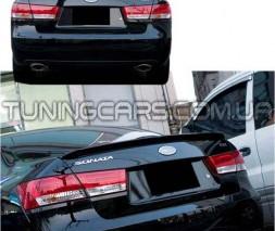 Лип спойлер Hyundai Sonata NF, Хюндай Соната НФ