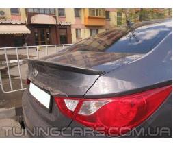 Лип спойлер Hyundai Sonata YF, Хюндай Соната ЮФ