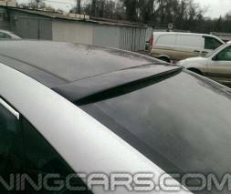 (ABS Пластик) Спойлер на стекло Hyundai Sonata NF, Хюндай Соната НФ