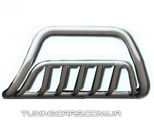 Защита переднего бампера для HyundaI Tucson (2004-2010) HNTC.04.F1-02 d60мм x 1.6