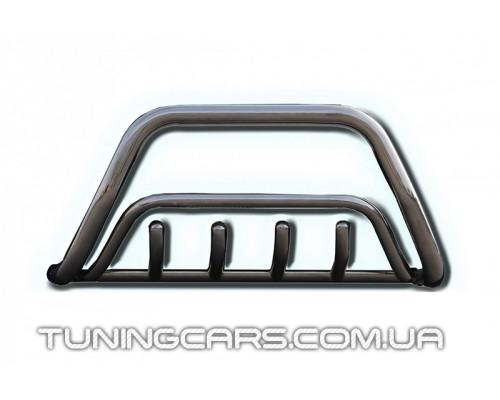 Защита переднего бампера для HyundaI Tucson (2004-2010) HNTC.04.F1-17 d60мм x 1.6
