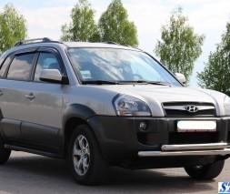 Кенгурятник Hyundai Tucson [2004+] ST014 (Greyder)