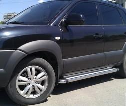 Пороги Hyundai Tucson KB002 (Hunter)