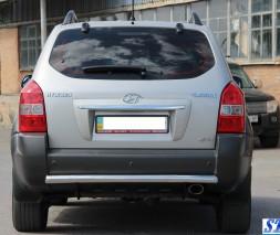 Задняя защита Hyundai Tucson [2004-2010] AK002