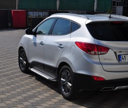 Пороги Hyundai ix35 [2010-2014] AB004 (Artemis Silver)