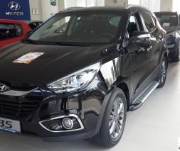 Пороги Hyundai ix35 [2010-2014] AB007 (Artemis Fin)
