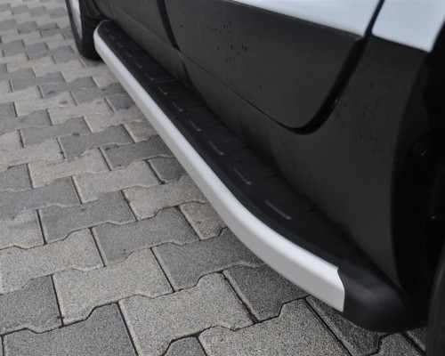 Пороги Hyundai ix35 [2010-2014] NS001 (Newstar Grey)