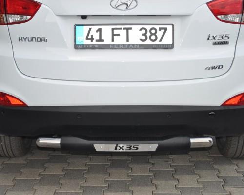 Защита заднего бампера для Hyundai ix35 [2010-2014] AK029