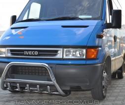 Передняя защита кенгурятник Iveco Daily (98 - 07) IVDL.98.F1-03