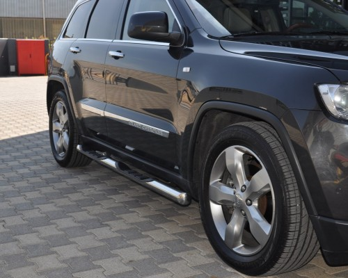 Пороги Jeep Grand Cherokee TT002 (Dragos)