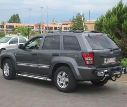 Пороги Jeep Grand Cherokee KB002 (Hunter)