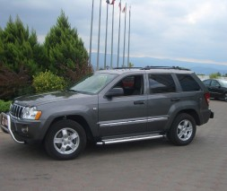 Пороги Jeep Grand Cherokee KB002 (Hunter)