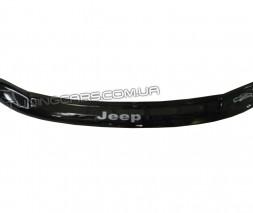 Дефлектор капота (мухобойка) для Jeep Grand Cherokee (WJ) c 1999-2004 г.в.